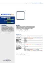 PEAK GeForce 9800GT 1GB 101337VBPK Leaflet