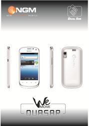 NGM-Mobile Wemove Quasar QUASAR/W User Manual