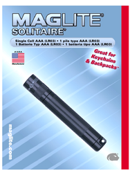 Maglite K3A016 Data Sheet