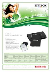Raidsonic IB-250U-B Leaflet