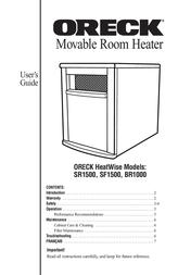 Oreck HEATWISE BR1000 User Manual