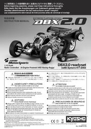 Kyosho 1:10 RC model car Nitro Buggy 31098T1 Data Sheet
