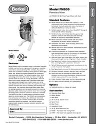 Berkel FMS30 Leaflet