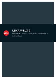 Leica V-LUX 2 Quick Setup Guide