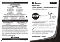 Swann ADW-300 User Manual