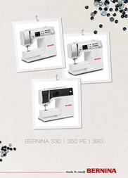 Bernina 350 PE Owner's Manual