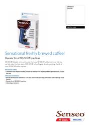 Senseo HD7011 HD7011/00 Leaflet