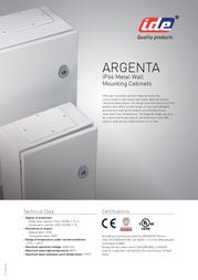 Ide Wall housing steel sheet 300x250x150 49019 Information Guide