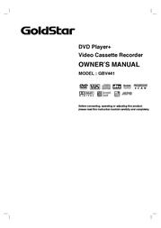 Goldstar GBV441 User Manual
