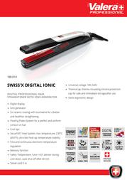 Valera Swiss'X Digital Ionic 100.01/I Leaflet
