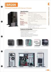 Chenbro Micom SR20968 Leaflet