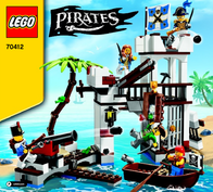 Lego Pirates LEGO® PIRATES 70412 SOLDATEN-FORT 70412 Data Sheet