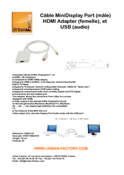 Urban Factory CBB21UF Leaflet