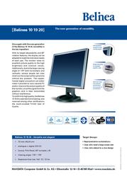 Belinea 101705 101705-1 Leaflet