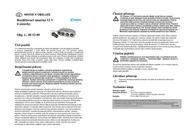 C&E 4 compartment distributor 02166 Data Sheet