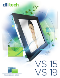 """DFI VS436 (15"""") Leaflet"""