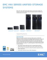 EMC VNX5300 2.4TB VNX53D153015F User Manual