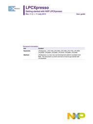 Nxp Semiconductors OM13012,598 Data Sheet