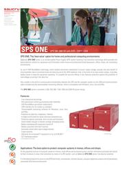 Salicru SPS.500.ONE 662AA-01 Data Sheet