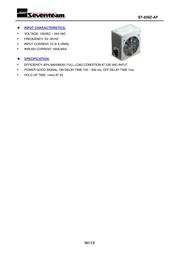 Seventeam ST-650Z-AF Leaflet