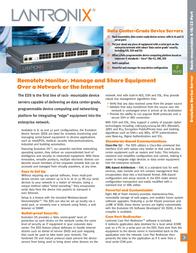 Lantronix Cat5 Network Cable 200.0062 Leaflet