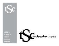 The Speaker Company IndooR oUtdooR SpEakERS User Manual