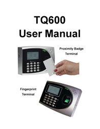 Acroprint timeQplus V3 User Manual