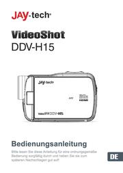 "JayTech Digital Camcorder,1920 x 1080 pix, 5 MPix, (3 ""), Black 77007676 User Manual"