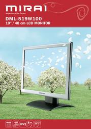 "Mirai 19"" LCD Monitor DML-519W100 Leaflet"