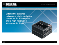 Black Box AC1020A User Manual