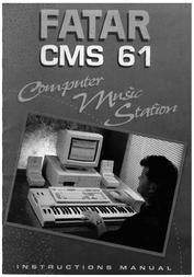 Studiologic cms-61 Guía Del Usuario