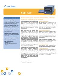 Quantum SDLT 600 DRIVE INT TR-S34AX-EY Leaflet