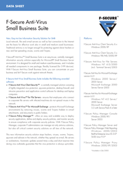 F-SECURE Anti-Virus Small Business Suite 5 User Box FCBSBF1N005IN Data Sheet