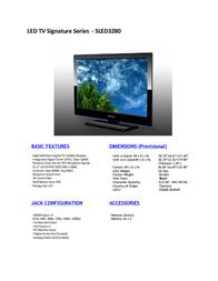 Orion SLED3280 Leaflet