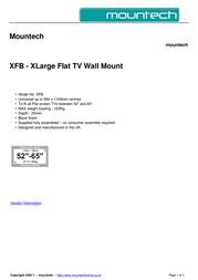 Mountech XFB Dépliant