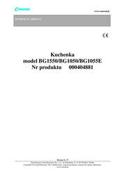 Rommelsbacher BG 1055/E Data Sheet