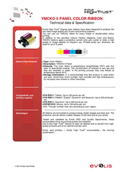 Evolis R3411 Leaflet