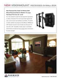 Sanus Systems VM400B Leaflet