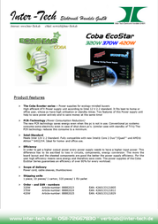 Inter-Tech Coba Eco Star 370W 88882024 Leaflet