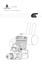 Evolution BENZIN-FLUGMOTOR 20GX2 EVOE20GX2 Data Sheet