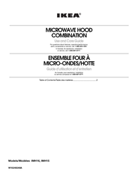 IKEA Microwave Oven IMH15 User Manual