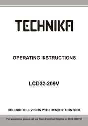 Technika LCD32-209V User Manual