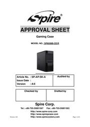 Spire Maverick 6008 SP6008B-CE/R User Manual