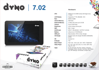 Dyno Technology 7.02 Leaflet