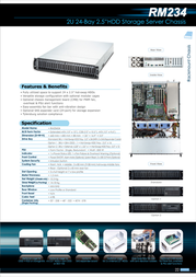 Chenbro Micom RM23424 RM23424H-001 Leaflet