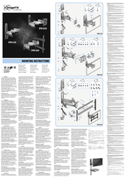 Havoned EFW 6145 - LCD/TFT wall support 8323504 Instruction Manual