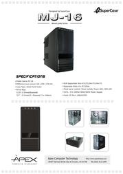 Apex MJ-16 Leaflet