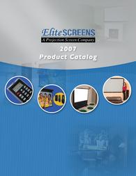 Elite Screens Electric84V User Guide