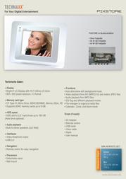 Technaxx Pixstore PIXSTORE Leaflet