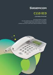 Sagemcom C110 ECO C110ECO Leaflet